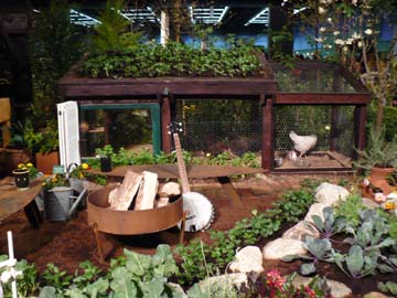 Step by step landscaping ideas backyard quail pens for Beautiful vegetable garden designs