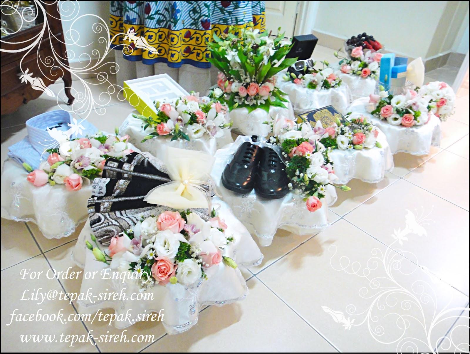 Gubahan Hantaran Fresh Flower