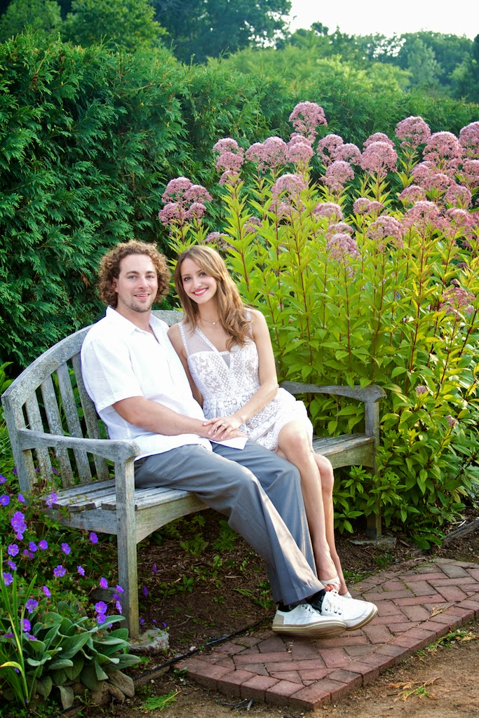 MSU garden engagement photo session by Tammy Sue Allen Photography