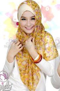 Nuhijab Manset - Cream (Toko Jilbab dan Busana Muslimah Terbaru)