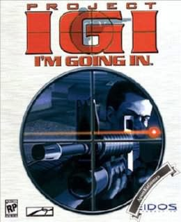 Project IGI 1 I'm Going In Cover, Poster