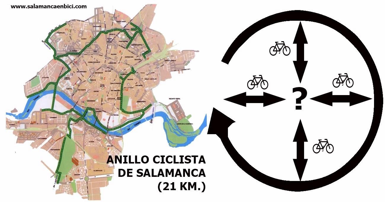 carril bici anillo ciclista salamanca