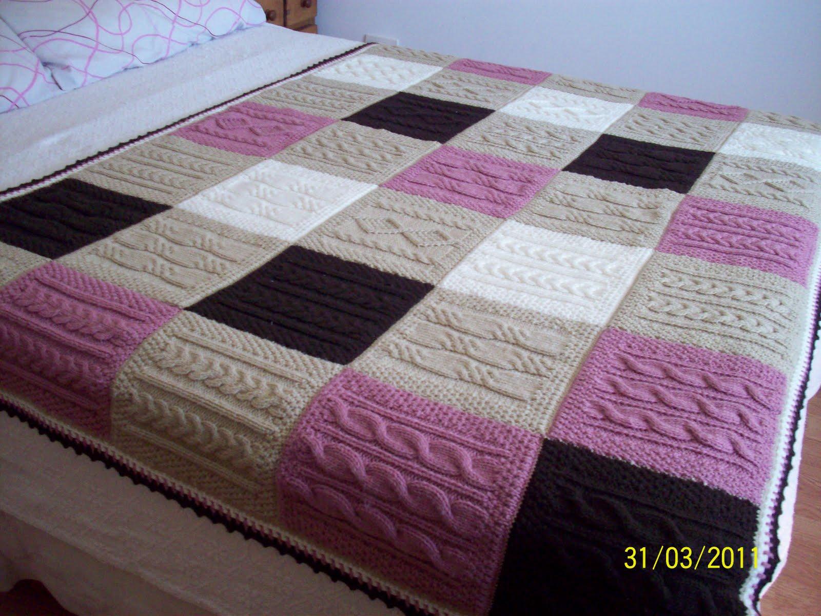 Arte natal deco tejidos - Colchas de patchwork hechas a mano ...