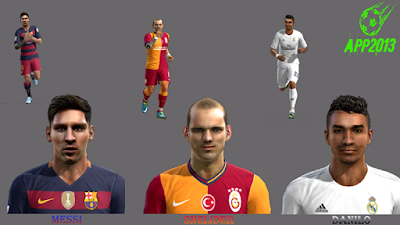 PES 2013 FACEPACK N*1 SEASON 15-16 by APP2013