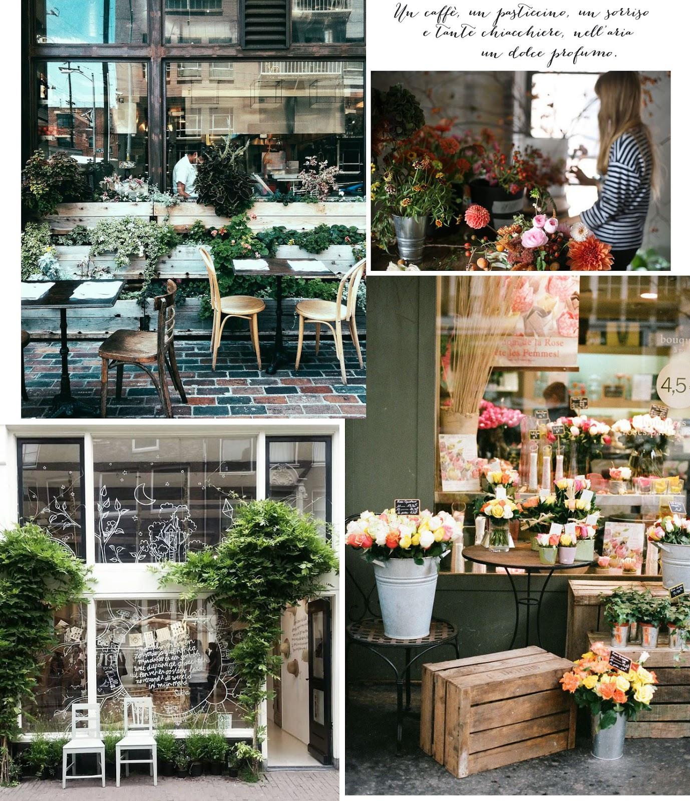 cibo & fiori - shabby chic interiors - Idee Arredamento Negozio Fiori