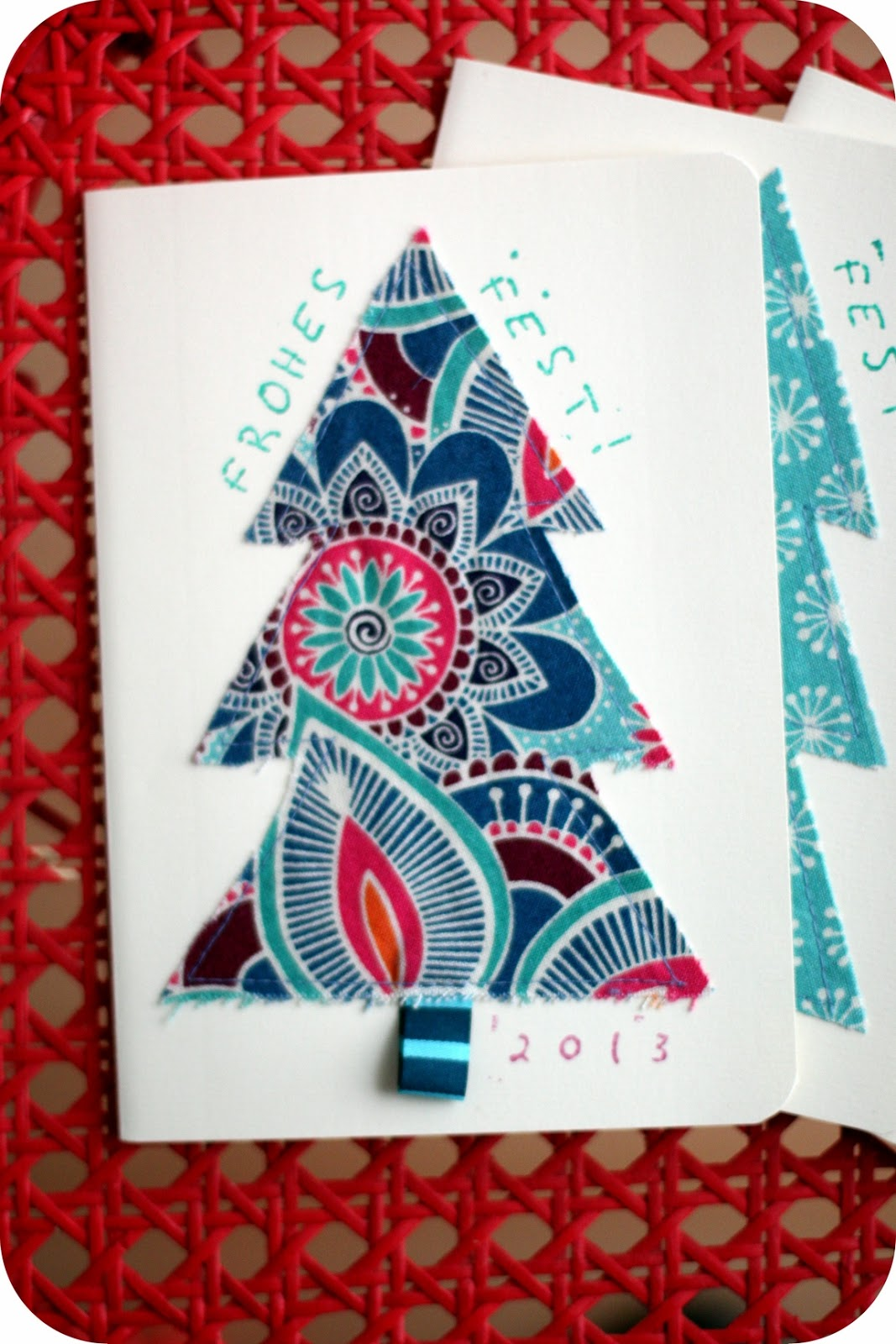 weihnachtskarten diy. Black Bedroom Furniture Sets. Home Design Ideas