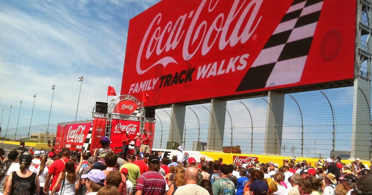 The Track Walk before the Coca Cola 600