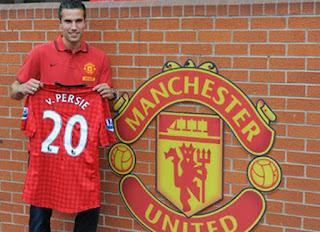 Robin van Persie Manchester United, Van Persie 2012-2013