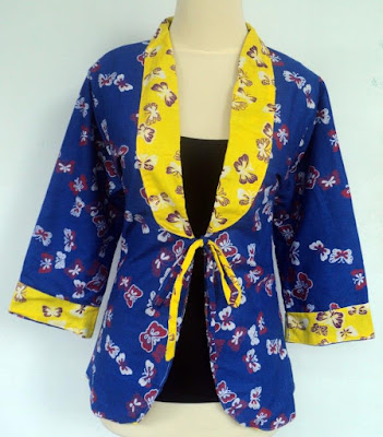 Harga Blazer Batik Bolak Balik Wanita