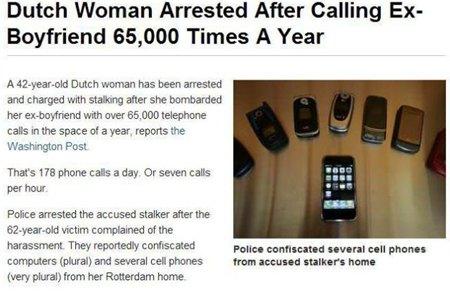 acoso-telefonico-mujer-arrestada