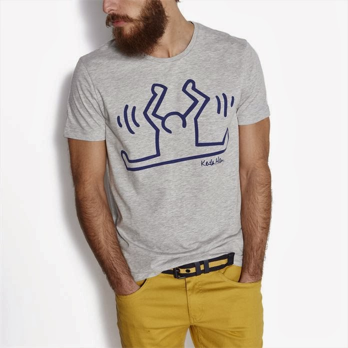 T-shirt-Jules-Keith-Haring, jules, keith-haring, mode, blog-mode, mode-masculine, look-homme, style-homme, mode-pas-cher, mode-anglaise, vetement-pour-homme, accessoire-mode, blogs-mode, l-homme-moderne-fashion, habillement-homme, du-dessin-aux-podiums