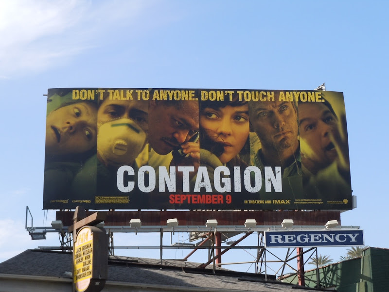 Contagion billboard