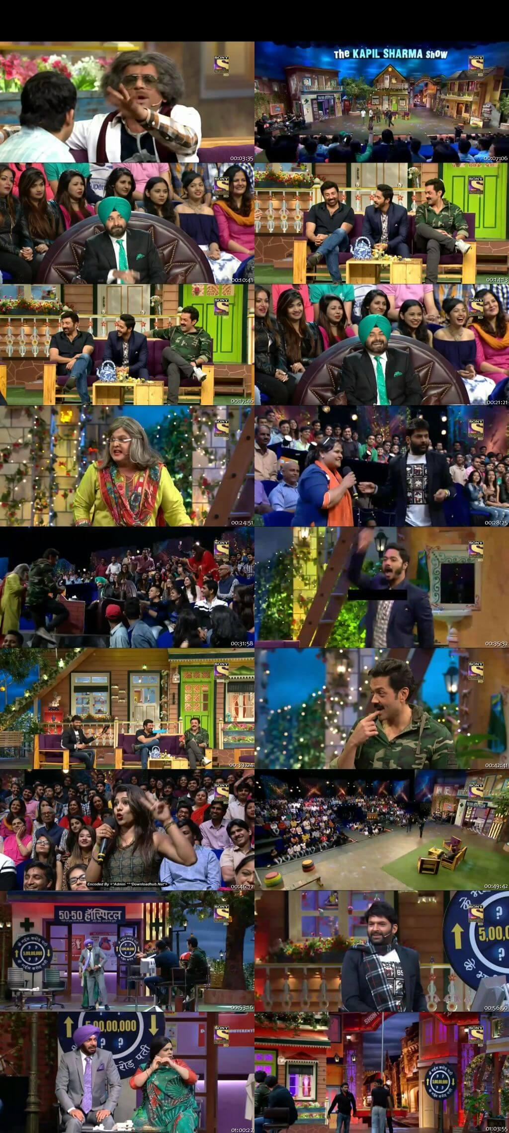 Screen Shot Of The Kapil Sharma Show 11th December 2016 Episode 67 300MB Watch Online