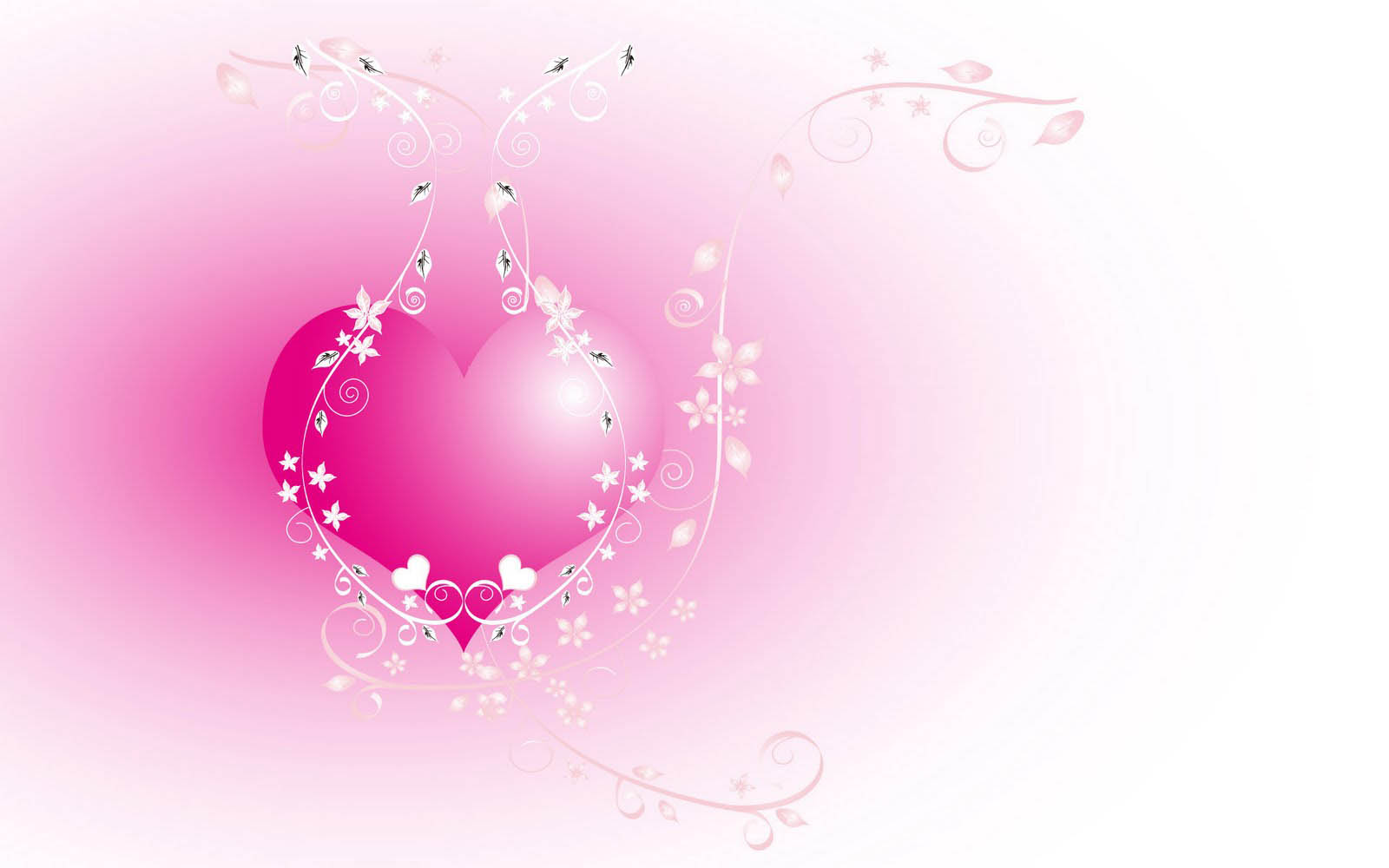 Love Wallpapers Thimes : wallpapers: Love Hearts Wallpapers