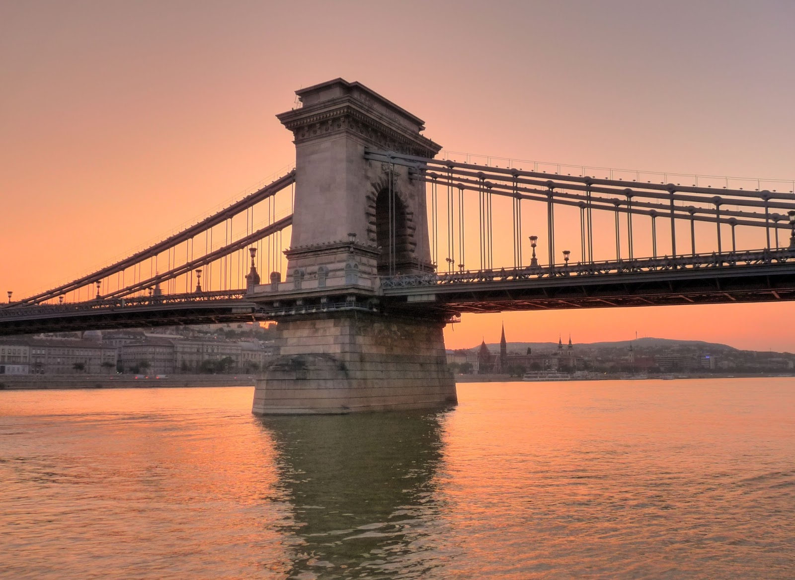 Travel Trip Journey Sz 233 Chenyi Chain Bridge In Budapest