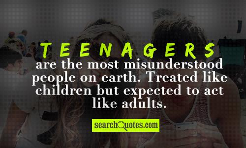 teenager nowadays essay