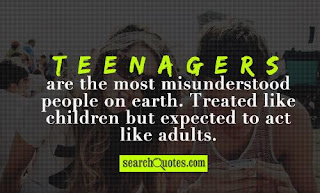 "adolescents are misunderstood essay ""teenagers are the most misunderstood people on earth treated like children but expected to act like adults"" what is your opinion on this particular"