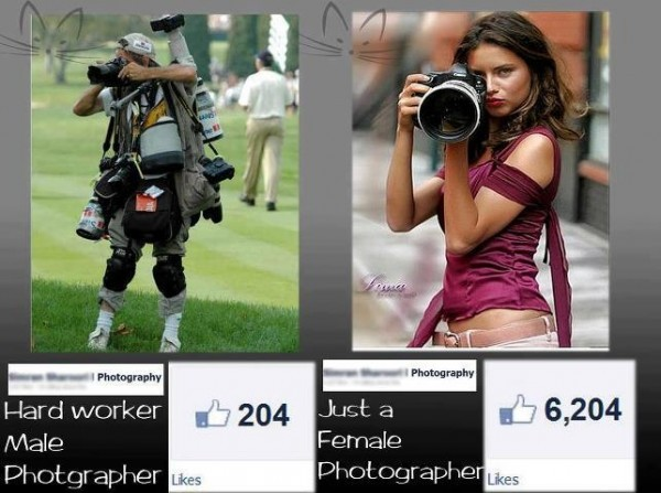Male Vs Female Photographer
