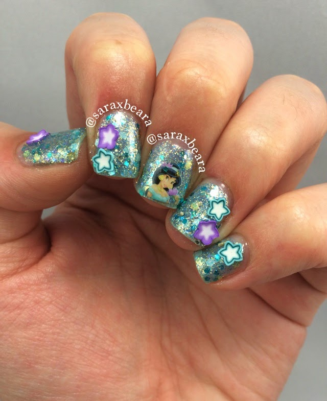 """""""Magic Carpet Ride"""" Heather's Hues Happily Ever Lacquered Disney Princess Inspired Collection Princess Jasmine"""