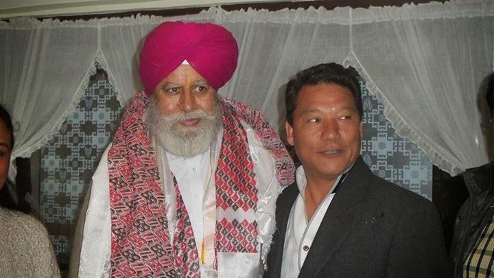 BJP candidate S S Ahluwalia reached Darjeeling