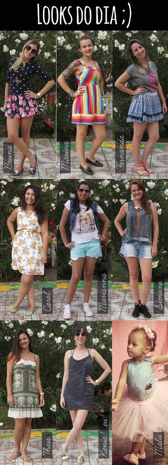 amigas, produção, festa, aniversário, sitio, calor, verão, vestido, saia, dockside, alpargata, cores, mix de estampas, estilo, moda