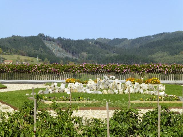 Vista desde el complejo Azurmendi