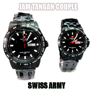 Harga Jam Tangan Swiss Army Couple Original