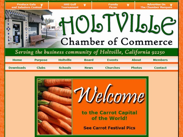holtville chamber of commerce website example