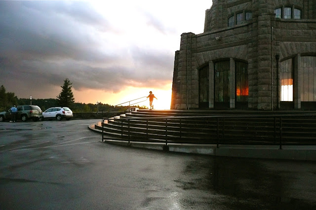 Vista House, 1917, Crown Point, Columbia River, Oregon, Pacific Northwest