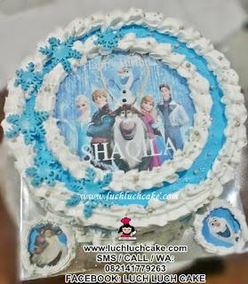 Kue Tart Frozen Edible Cake