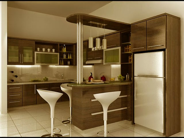 cara membangun dapur minimalis