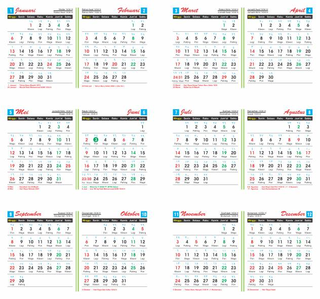 Kalender Jawa 2013