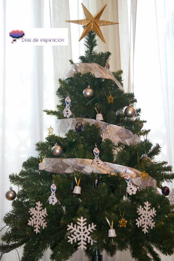 D as de inspiraci n decoraci n navide a frozen editado - Arbol navidad nieve ...