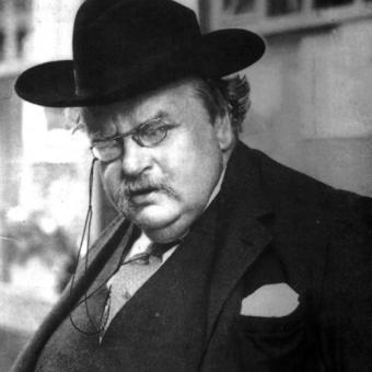 K Chesterton Con su característico buen humor, G.K. Chesterton fabrica un ...