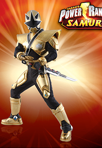 The power is on gold mega mode en action - Power rangers dore ...