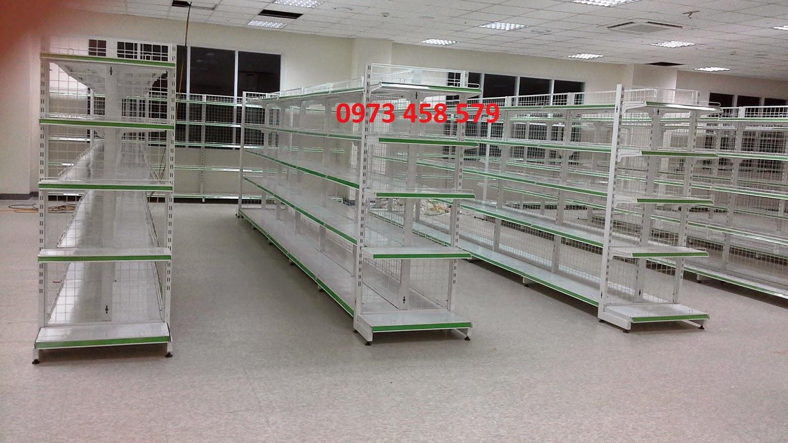 kệ siêu thị bán hàng
