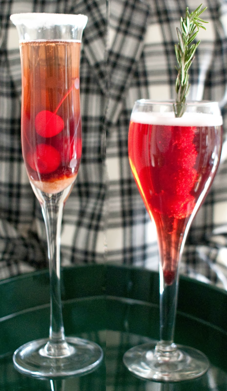 Champagne, Wine Kir Royale Cocktail Recipe