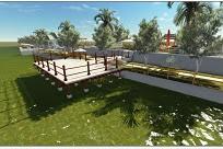 Jasa desain Taman Dermaga Exterior Landscape Murah dan Cepat
