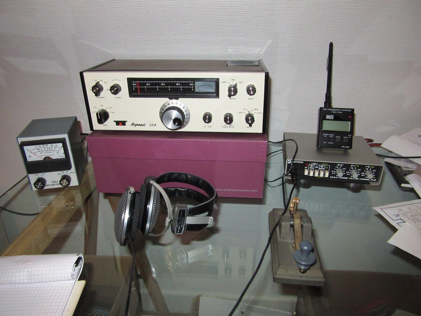 Ten Tec Argonaut 509 Station