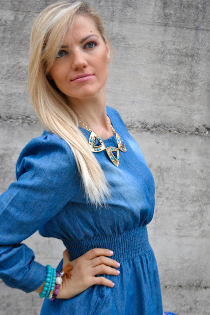 mariafelicia magno fashion blogger color block by felym fashion blog italiani fashion blogger italiane blog di moda blogger italiane di moda collana majique collana etnica come abbinare una collana etnica ethnic necklace how to wear ethnic necklace how to combine ethnic necklace oceanic jewellers blonde girls blonde hair blue eyes