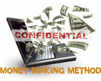 Confidential money making method