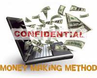 Confidential money making method