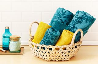 organizar+enxoval5 Dicas para organizar toalha de banho