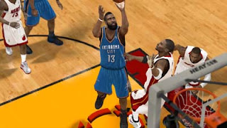 NBA2K12 James Harden Cyber face Patch
