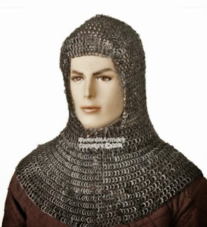 http://www.swordnarmory.com/Black-Medieval-Chainmail-Coif-Flat-Ring-Wedge-Rive-p/cmc51wbkl.htm