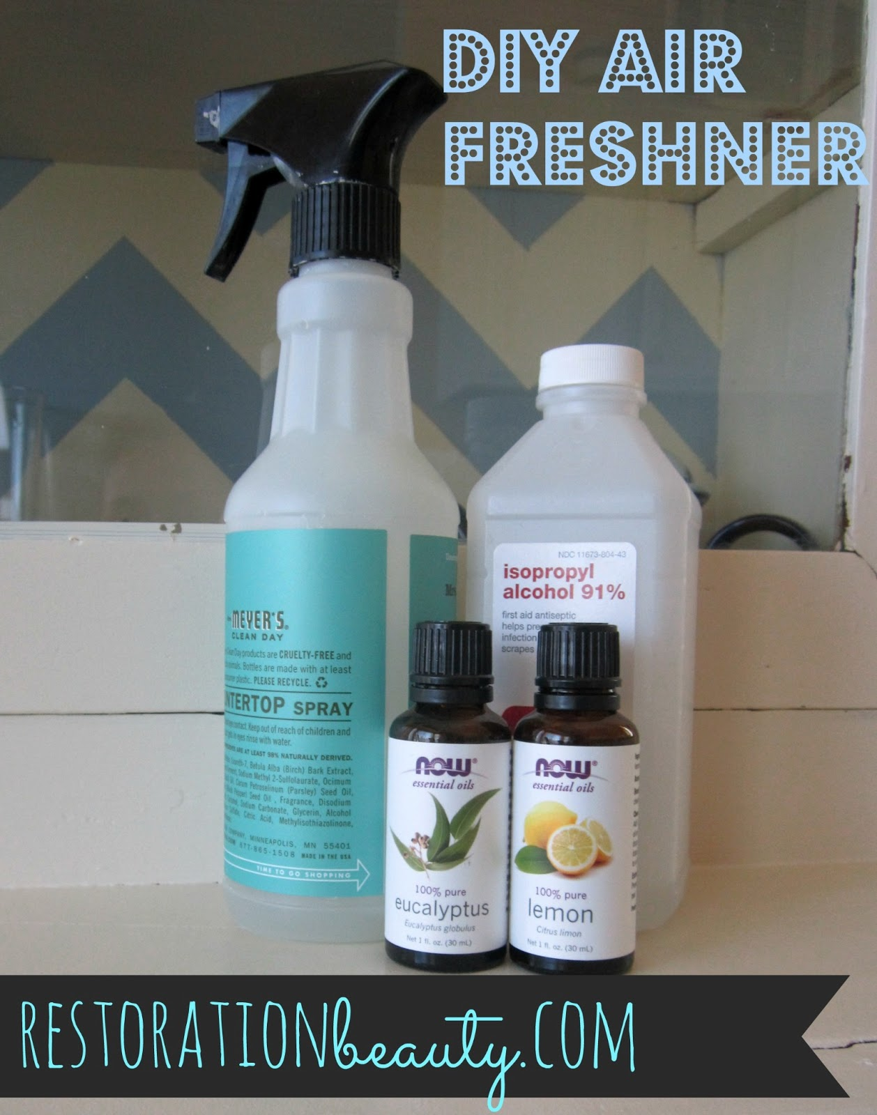 restoration beauty diy air freshener