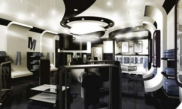 from modern and futuristic fashion store interior design ideas flickrfotoscom - Store Design Ideas
