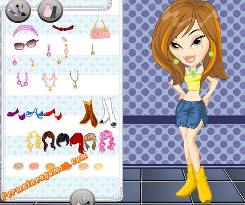 Permainan Anak Perempuan Berdandan dan Berpakaian