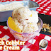 Homemade Peach Cobbler Ice Cream