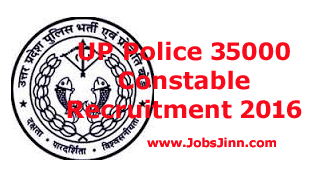 UP Police Constables Recruitment 2016